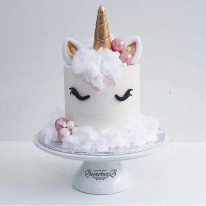 Gateau d'anniversaire licorne 3