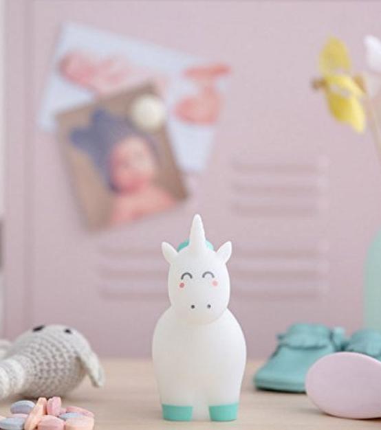 Veilleuse licorne à piles – Gadget Licorne