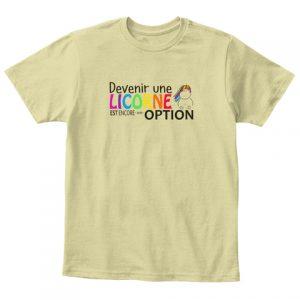 T-shirt enfant - Devenir une licorne est une option