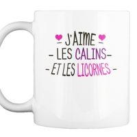 Mug - Calins et licornes