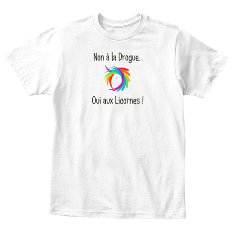 T-shirt enfant - Non à la drogue