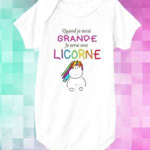 body quand je serai grande je serai une licorne