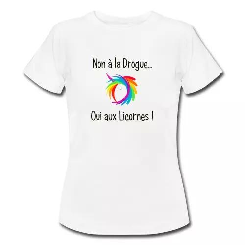 non-a-la-drogue-oui-aux-licornes-t-shirt-femme