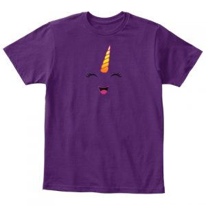 T-shirt enfant Licorne - Unicorn Kawaii
