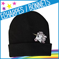 Echarpes, bonnets et casquettes