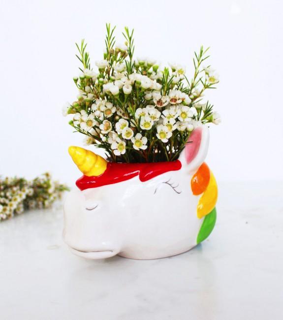 Pot de fleurs licorne – L'Avant Gardiste