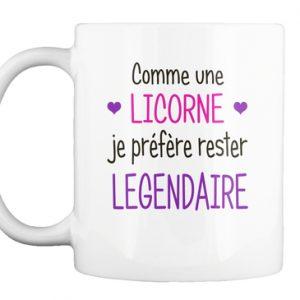 Mug - Licorne je suis légendaire