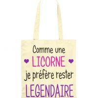 Sac - Licorne je suis légendaire