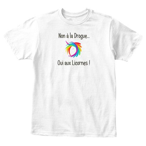 T-shirt enfant - Non à la drogue