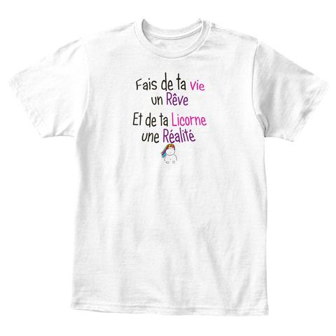 T-shirt enfant - Rêve et Réalité Licorne