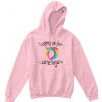 Sweat shirt enfant - Licorne un jour toujours - hoodie