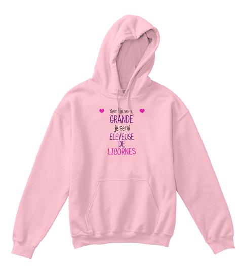 hoodie licorne Quand je serai grande je serai éleveuse de licornes !